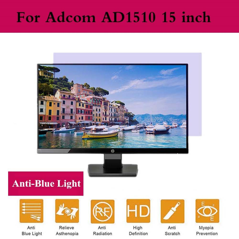 Para Adcom AD1510 15 pulgadas Filtro de privacidad Anti-Protector de pantalla de película Azul Anti-peek Eye Protection Film monitor Accesorios