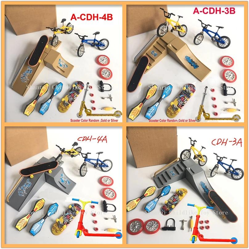 Скутер для пальца Пальчиковый велосипед, мини-велосипед, доска для катания на коньках, детские развивающие игрушки, Пальчиковый велосипед, ...
