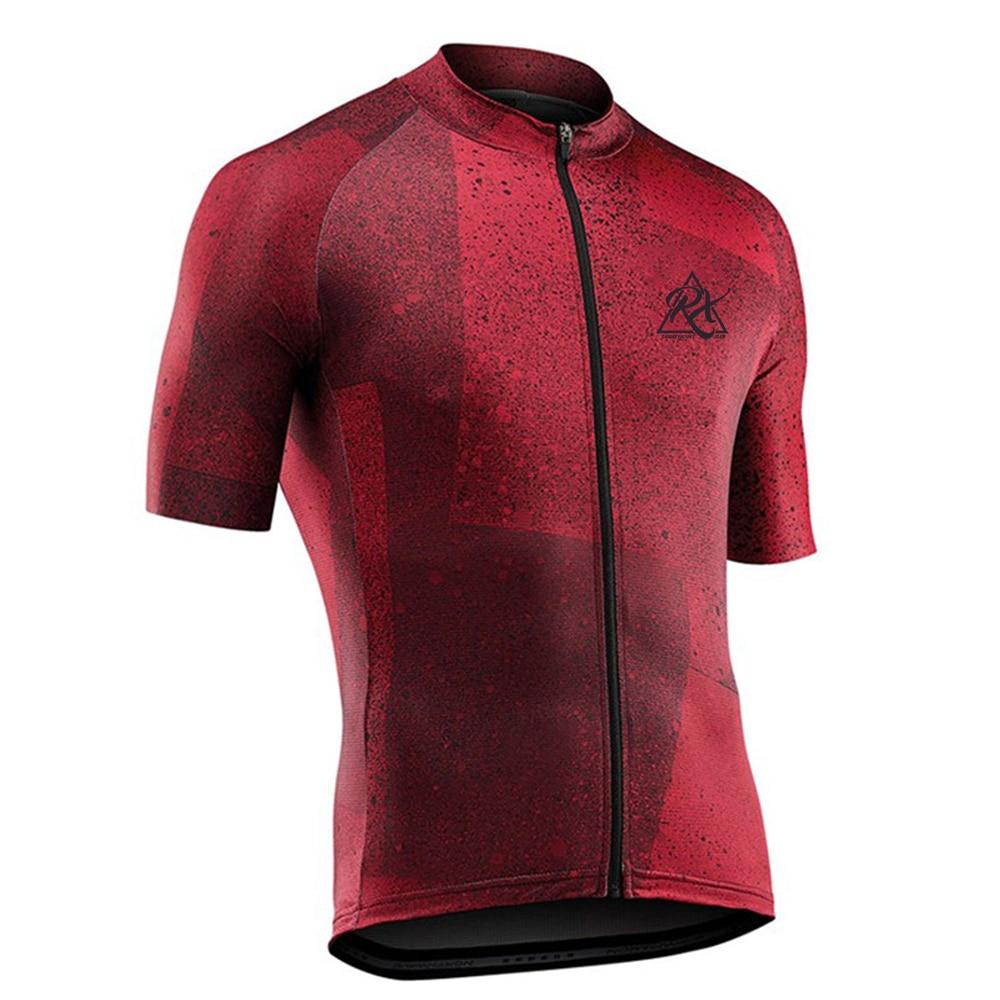 RX-Maillot de Ciclismo para hombre, Ropa transpirable para Ciclismo, camisetas de equipo...