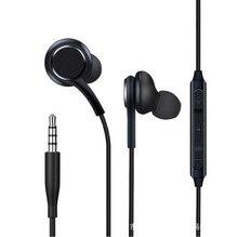 S8 filaire casque écouteurs noir in-ear écouteurs casque pour Samsung Galaxy S8 & S8 Plus OEM écouteurs