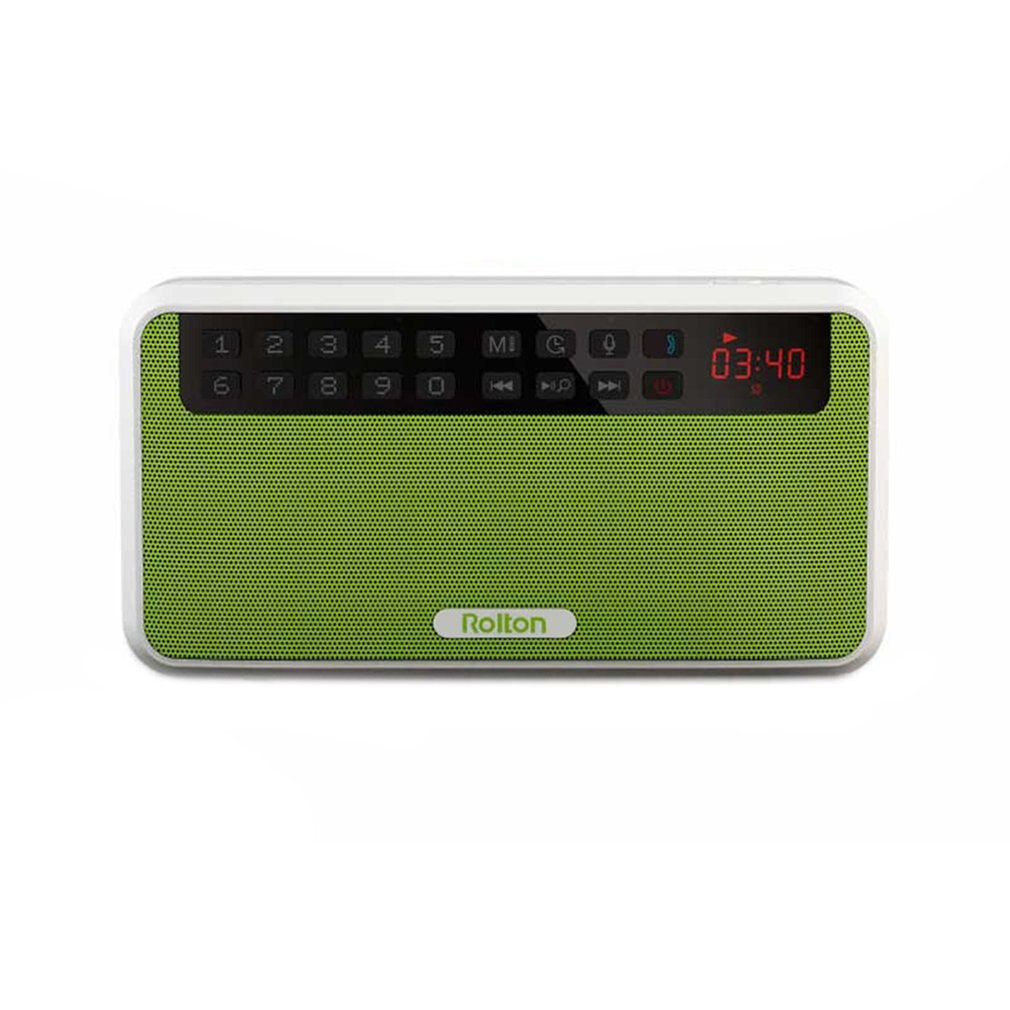 Rolton E500 Wireless Speaker Portable Mini Speaker Stereo MP3 Play Loudspeaker Support TF Card FM Radio