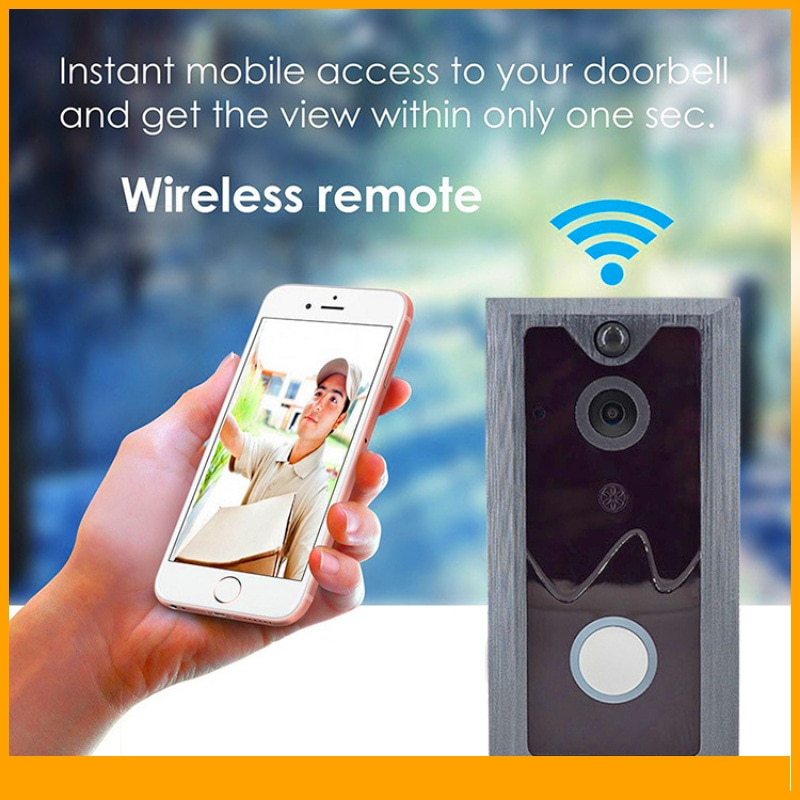 wireless wifi ip box for video doorphone doorbell building intercom system control 3g 4g android iphone ipad app on smart phone Smart Home Security Building Voice Visual Intercom Wireless Wifi Mobile Phone App Remote Video Monitoring Doorbell