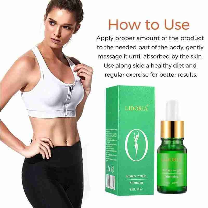 Beauty Slimming Weight Loss Serum Firming Essential Makeup Reduce Massage Fat Burning Body Stubborn Fat Oil R6X3
