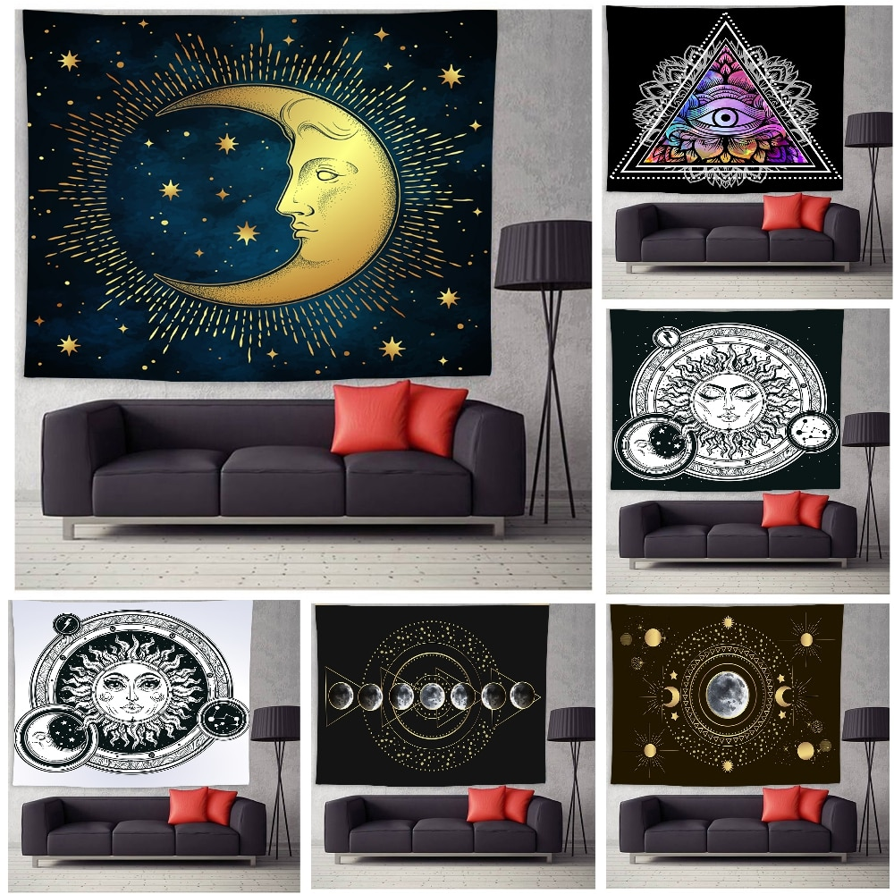 Tapestry Wall Hanging Bohemian Beach Mat Polyester Blanket Yoga Mat Home Bedroom Art Carpet Wall Hanging Decor colorful large hanging funny text party decoration tapestry wall hanging blanket yoga beach mat home decor house decoration