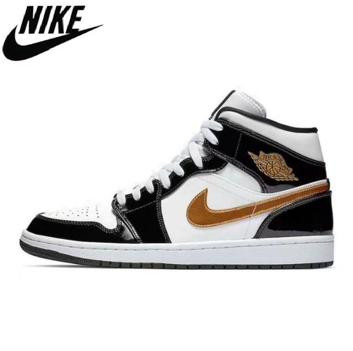 -Zapatillas Nike Air Jordan Retro 1 Baskteball para mujer, 2021, baloncesto, deportivas,...
