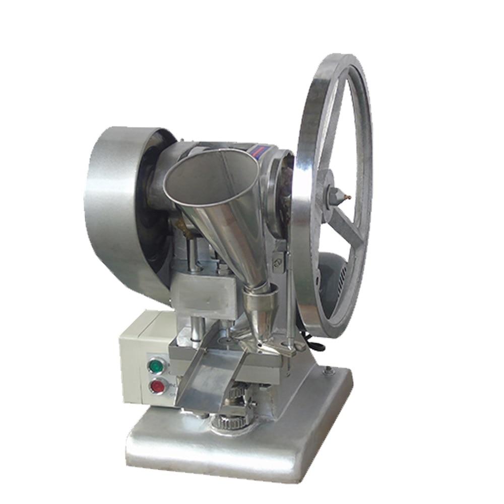 AC220-240V 50-60HZ 370W potencia 4500-6000 PC/H pequeño solo punch tableta de sal máquina de prensa medicina máquina fabricadora de tabletas