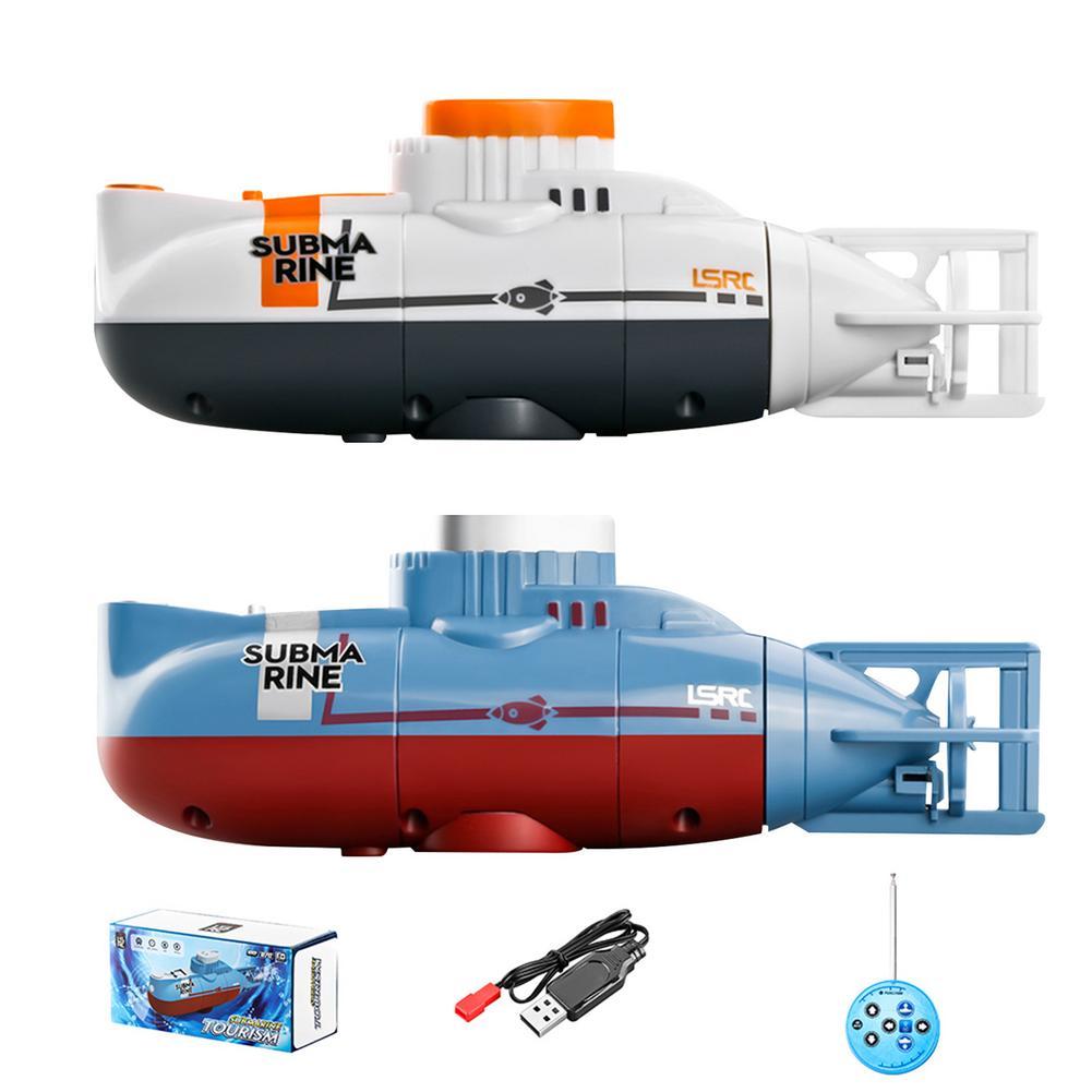 Minirastreador de Control Remoto Para niños, Control Remoto de Radio eléctrico, Submarino,...