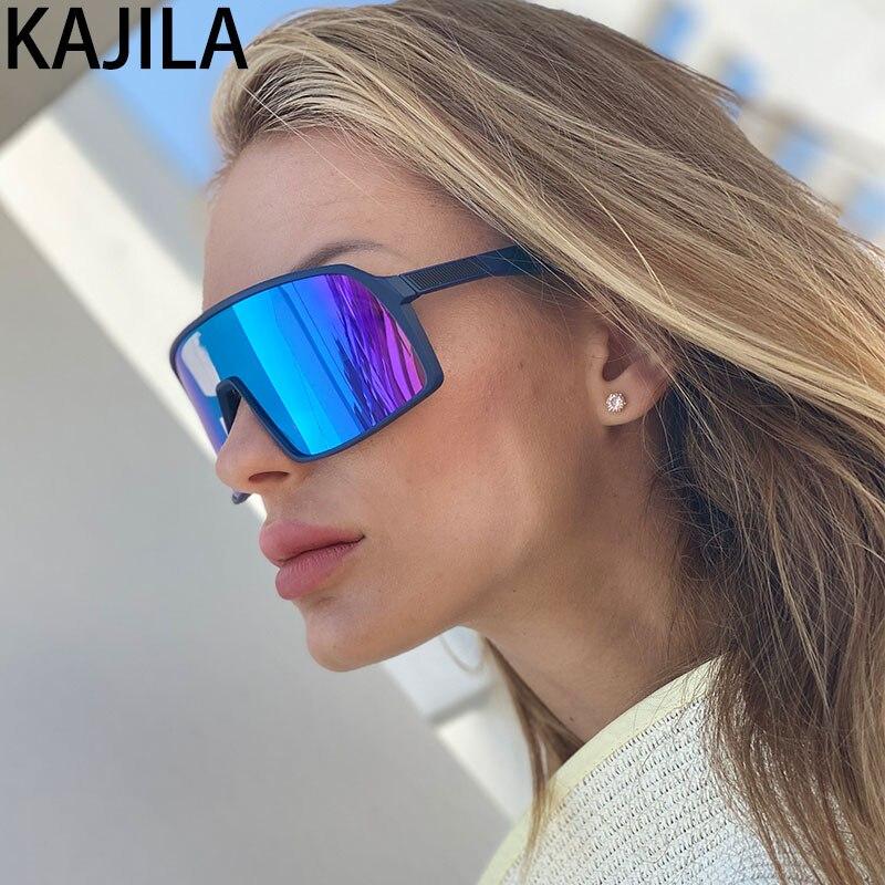 Gafas de sol deportivas para mujer 2020, gafas de una pieza, gafas de sol rectangulares de marca, gafas de sol para hombre, gafas de sol clásicas para mujer