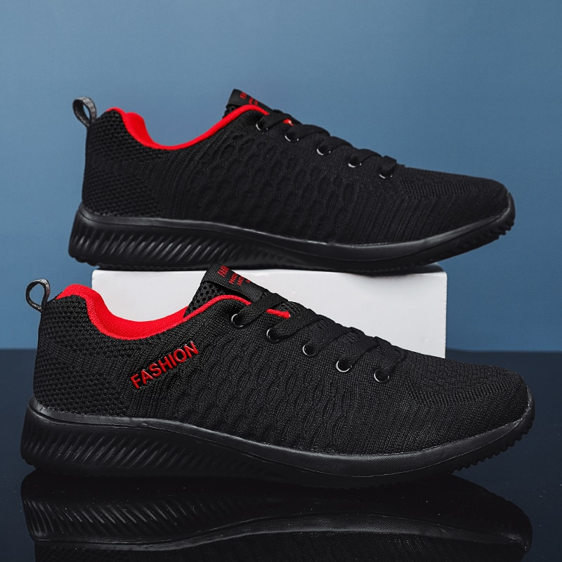47 Large Size Men Sneakers Outdoor Walking Shoes Mesh Comfortable Breathable Sport Running Light Soft Casual
