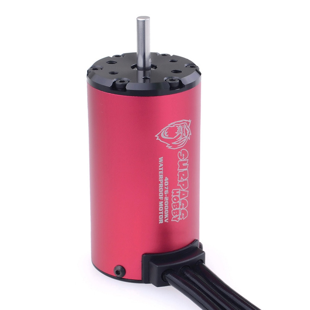 Waterproof 4076 Brushless Motor 2000KV for RC 1/8 Drift Racing Off-road Climbing Car Replacement Accessories Part enlarge
