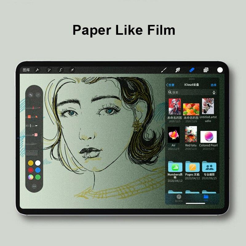 Paper Like Film For Huawei MatePad Pro 10.8 12.6 2021 Matte PET Film For Huawei MatePad 11 2021 10.95'' Screen Protector Film