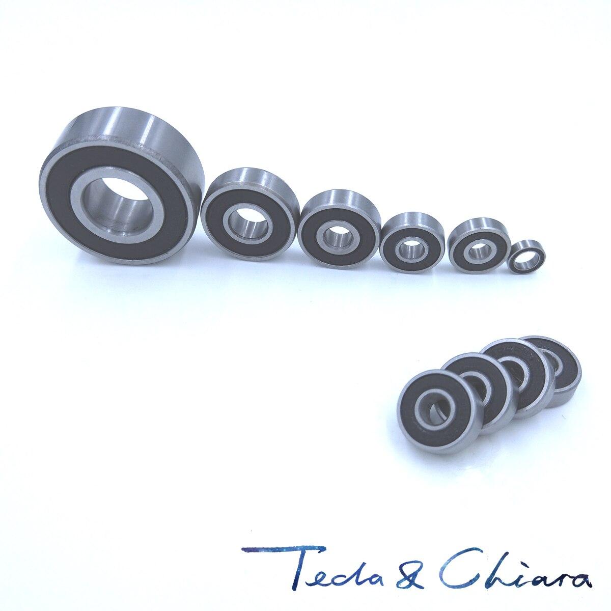 2 uds 6204-2RS 6204RS 6204rs 6204 rs los rodamientos de bolas de ranura profunda 20x47x14mm envío gratis de alta calidad