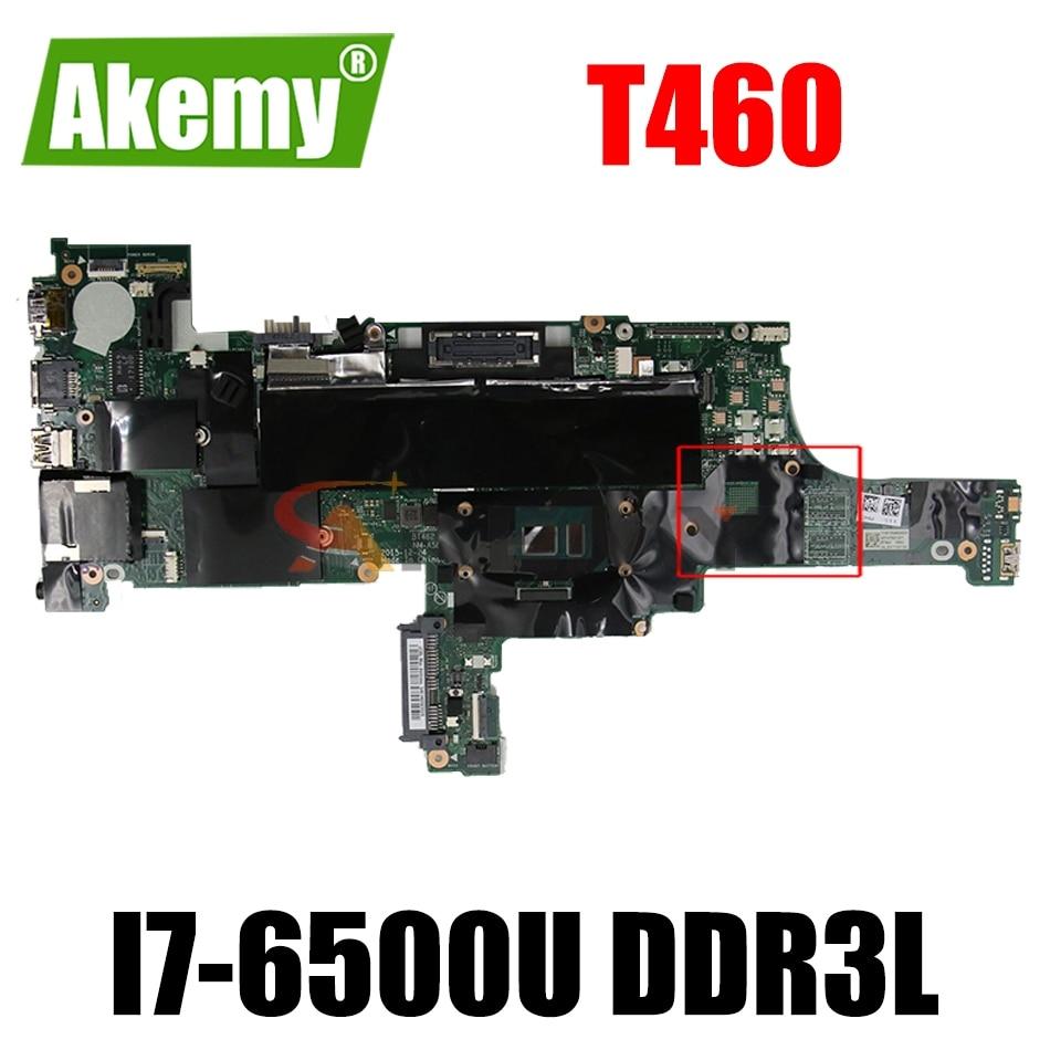NM-A581 اللوحة الرئيسية لينوفو ثينك باد T460 اللوحة الأم 01AW344 BT462 NM-A581 مع I7-6500U DDR3L 100% اختبار العمل