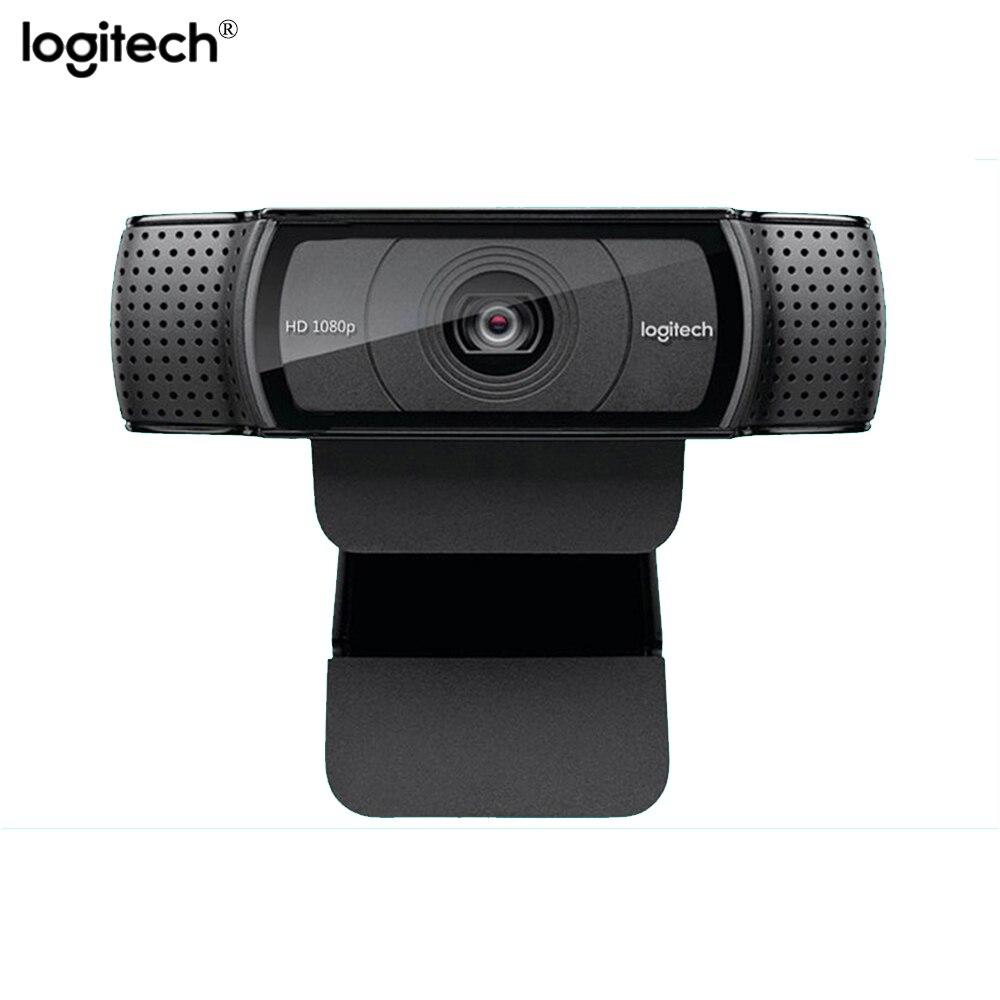 Logitech C920e hd Webcam Video Chat Recording Web Usb Camera HD Smart 1080p for Computer Laptop Logitech C920 upgrade version