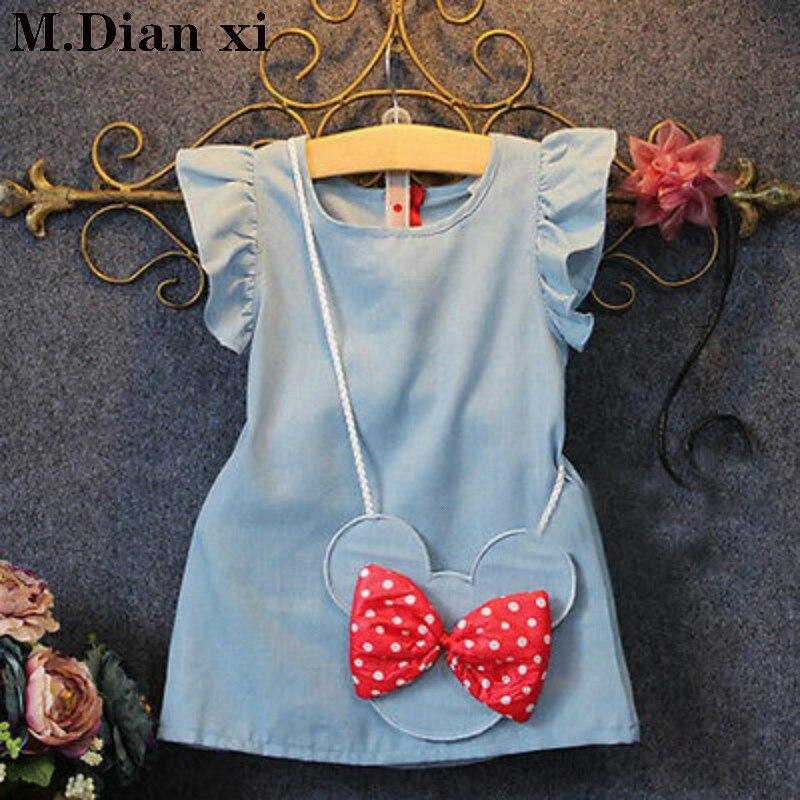 Menina vestido 2018 novos vestidos de bebê padrão impressão limão cartoon aniversário vestido feminino bebê verão roupas dos miúdos roupas da menina