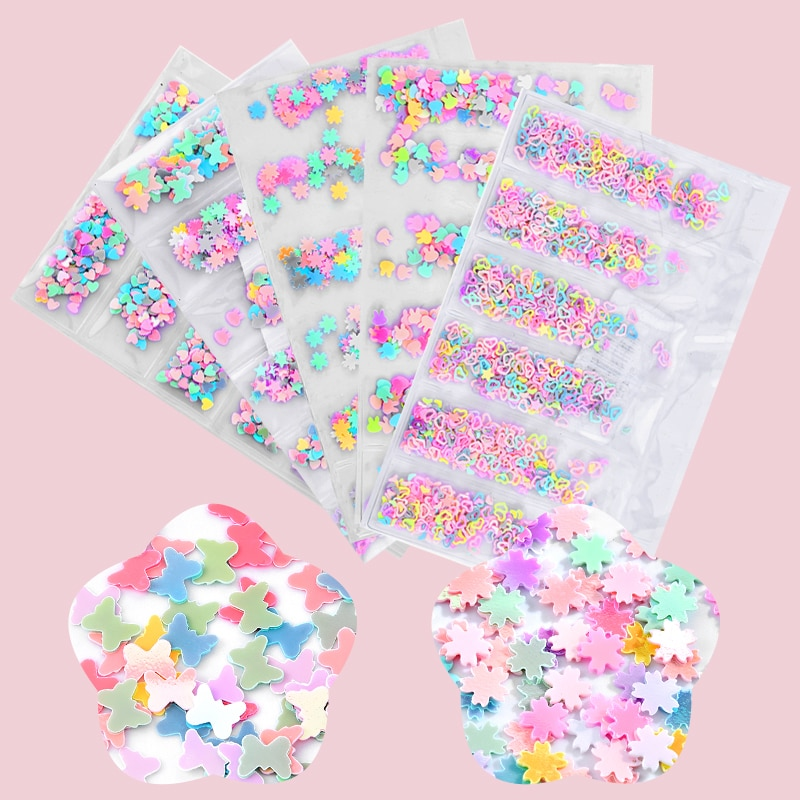 2019 nova Prego Glitter Flocos Hexágono Lantejoulas Coloridas Lantejoulas Sparkly 3D Polonês Manicure Nails Art Decorações Atacado