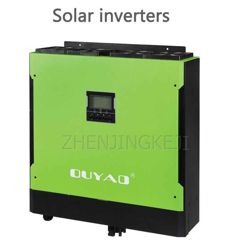 Casa inversor solar controle de armazenamento de energia pequena onda senoidal montada na parede integrado máquina dispositivo de armazenamento de energia ligado à grade