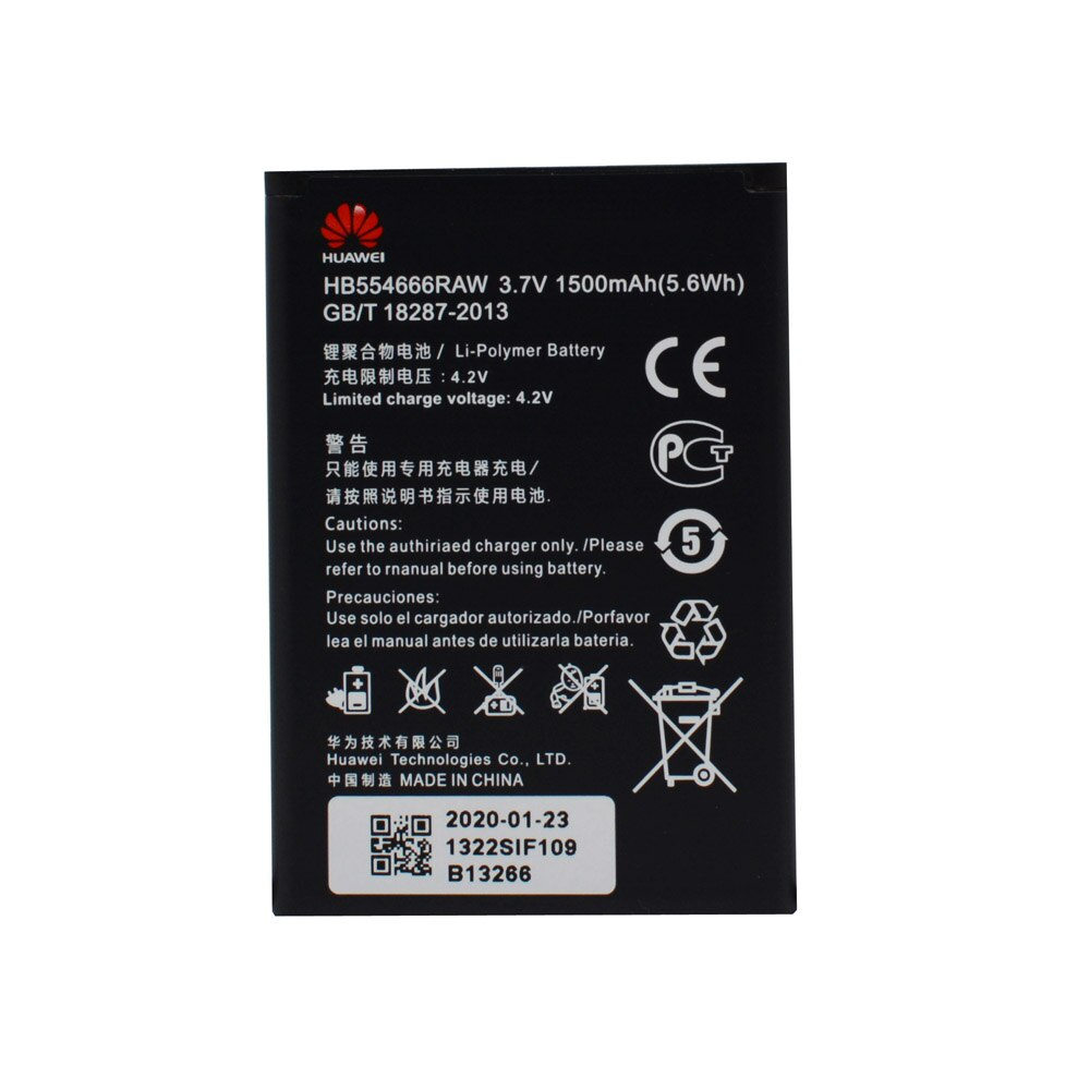 20pcs/lot Battery HB554666RAW For Huawei 4G Lte WIFI Router E5372 E5373 E5375 EC5377 E5330 Original  Phone Replacement bateria enlarge