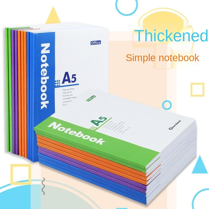 Простой блокнот, блокнот плюс, очень толстый блокнот, офисные канцелярские товары, дневник, блокнот для бизнеса, оптовая продажа записей, ко...