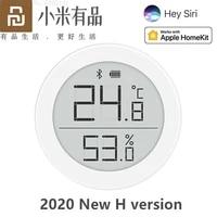 Youpin Cleargrass Qingping Bluetooth thermometre hygrometre maison temperature humidite capteur prend en charge pour Apple Siri   HomeKit