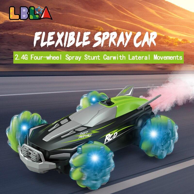 LBLA B3 4WD RC Cars Four Wheel Remote Control Gesture Sensing Stunt Drift Car Lighting Vehicle with