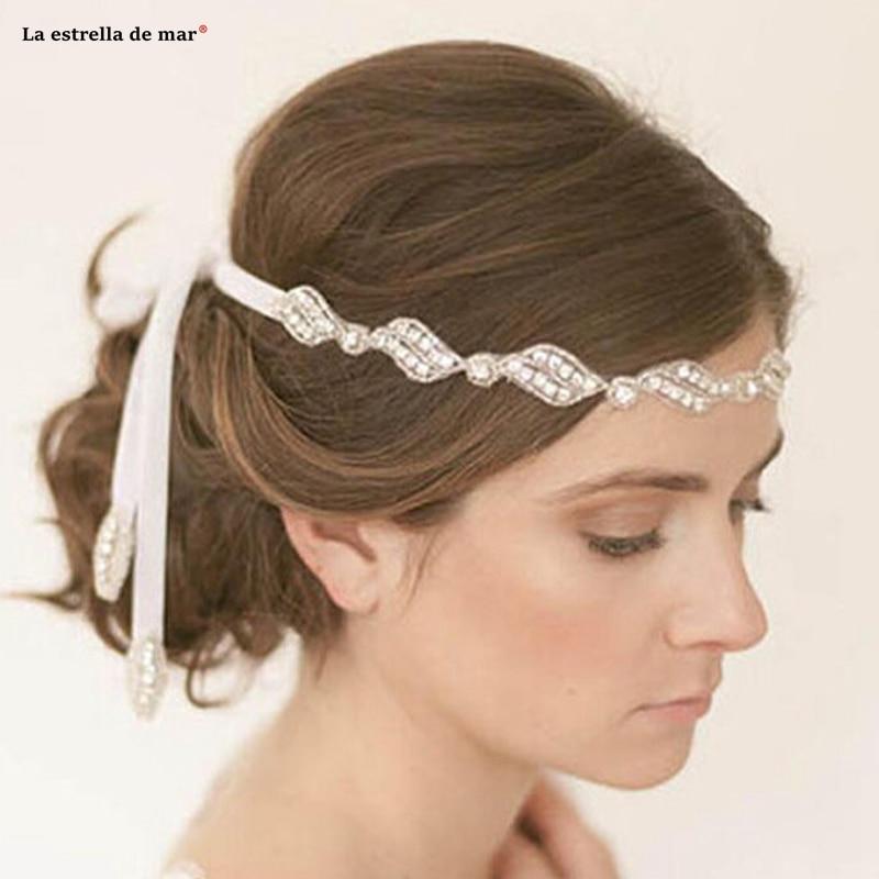 Tocados para novia al por mayor comercio exterior de diamantes de imitación...