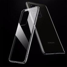 Чехол для Samsung Galaxy A51 A50 A71 A70 A10 A40 S8 S9 S10 S10e S7 край S20 ультра S20e Note 8 9 10 Plus прозрачный силиконовый чехол для телефона