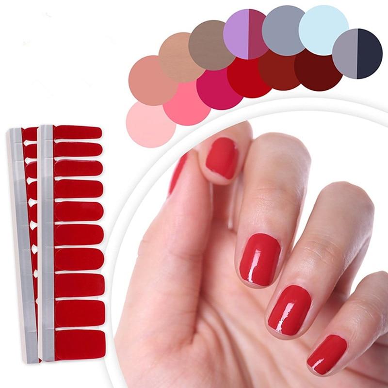 1 лист, чистый градиент цвета, наклейки для ногтей, художественные украшения, маникюрные полоски лака для ногтей, накидки для беременных жен...