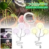 5v led usb angel ring plant grow light sunlike indoor flower succulet greenhouse succulent full spectrum phyto growth lamp