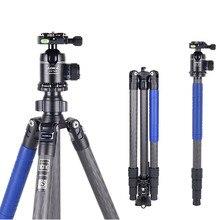 AOKA KU284C+KK38 Compact lightweight carbon fiber camera professional outdoor travel tripod