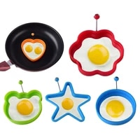 silicone fried egg shaper pancake mould mold kitchen cooking tools form for frying eggs tools omelette mould