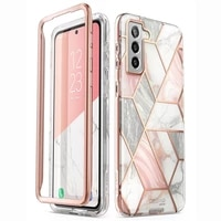 for samsung galaxy s21 plus case 6 7 2021 i blason cosmo full body glitter marble cover without built in screen protector