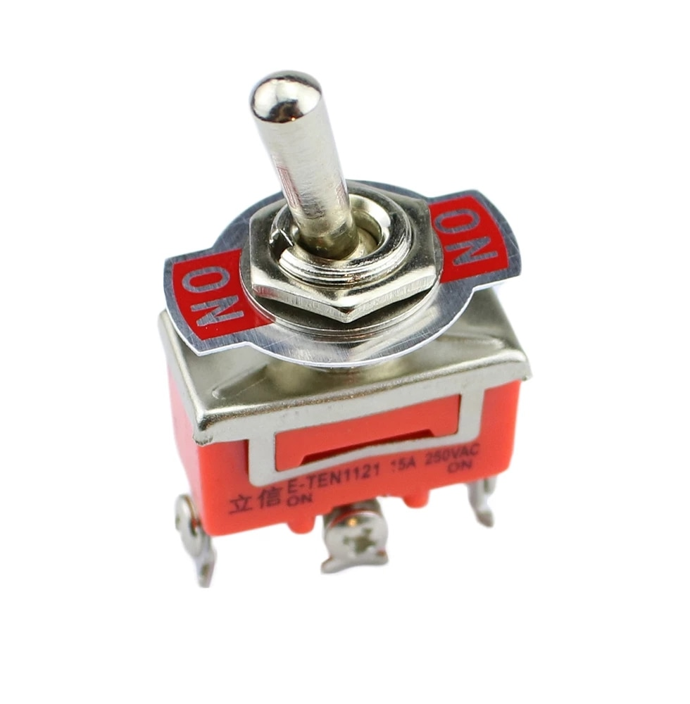 1PCS E-TEN1121 15A 250VAC 3PIN ON-ON Toggle switch Rocker switch The power switch micro switch