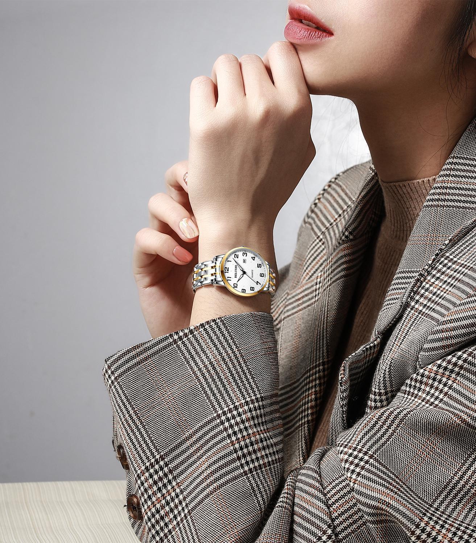 BELUSHI new watch male waterproof quartz watch big number luminous big dial couple watch enlarge