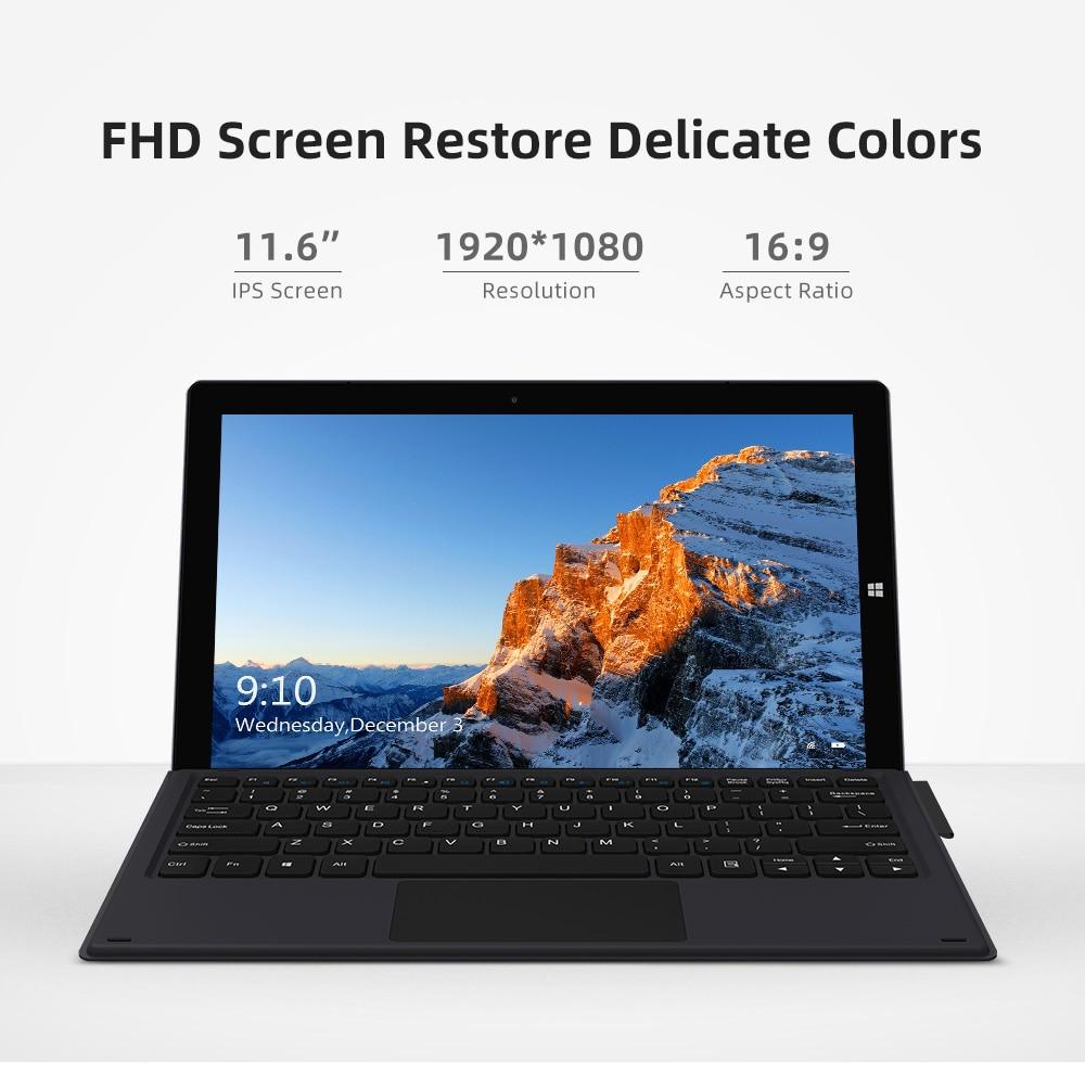 CHUWI UBook 11.6 Inch 1920*1080 Display Intel N4120 Quad Core Processor 8GB RAM 256GB SSD Windows Tablets