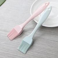 3 pcs bbq color heat resistant non stick cookware silicone oil brush barbecue brush barbecue accessories kitchen supplies