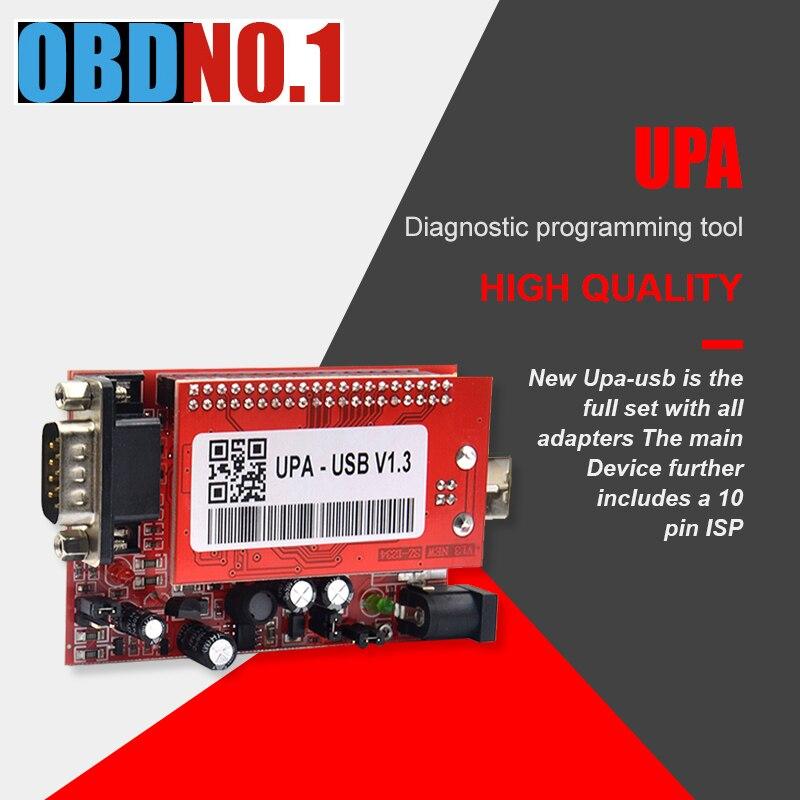 Upa usb programador usb v1.3 v2014 programador adaptadores completos com funções nec 40pin zif soquete 16pin soic 93c chip 24c01 85c92