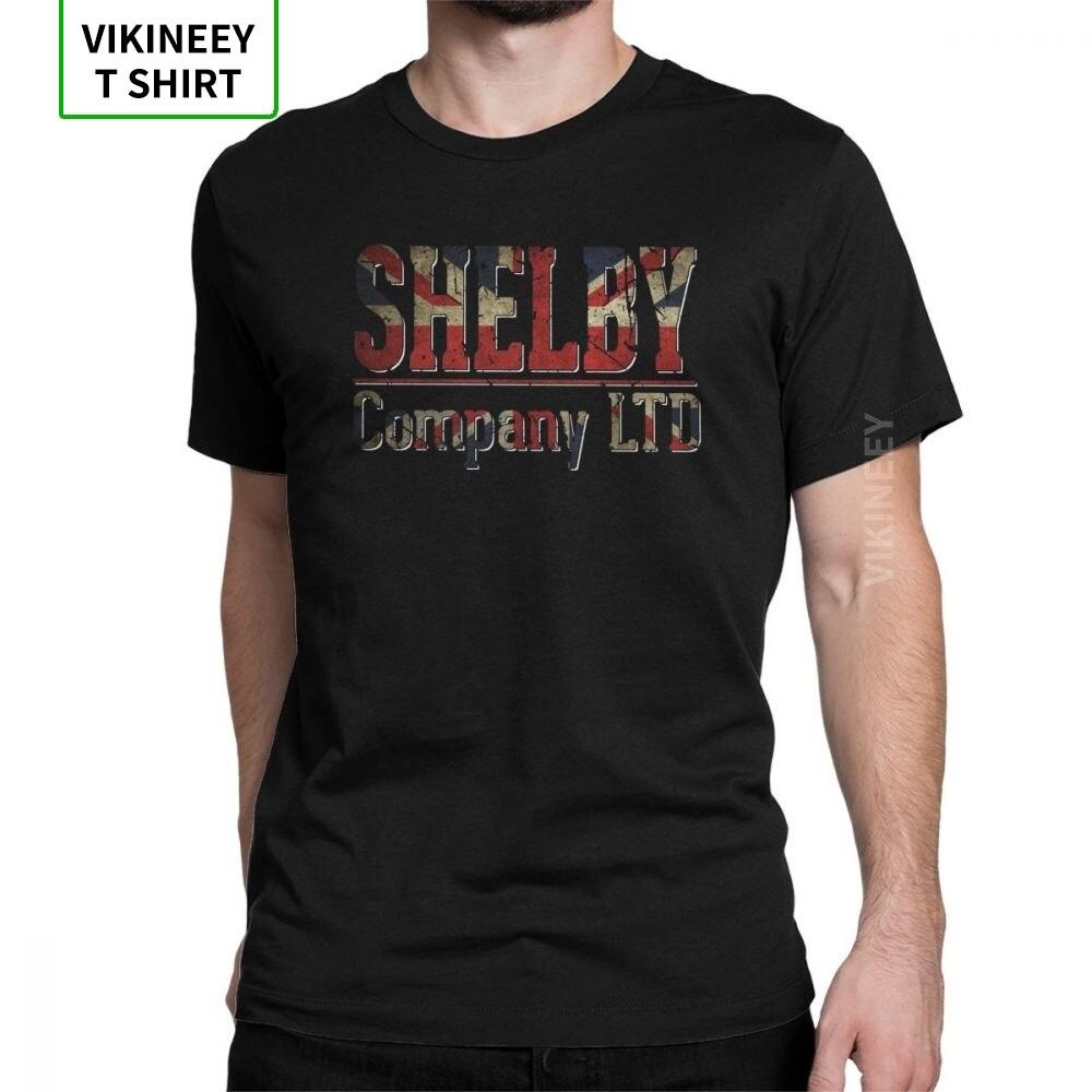 Camisetas Peaky Blinders para hombre, camisetas de novedad de manga corta de algodón con cuello redondo, camiseta para adultos, camiseta de hombre