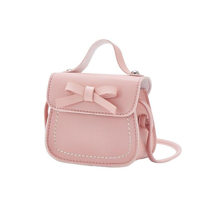 Lovely Baby Girls Mini Messenger Bag Cute Bow Kids Baby Purses Children Handbags Shoulder Bags durable and lightweight