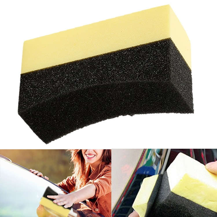 Car Tire Waxing Polishing Washing Sponge Cleaning Pad Brush Auto Wash Tool Interior Detailing Brush Car Accessories Clean ToolS недорого