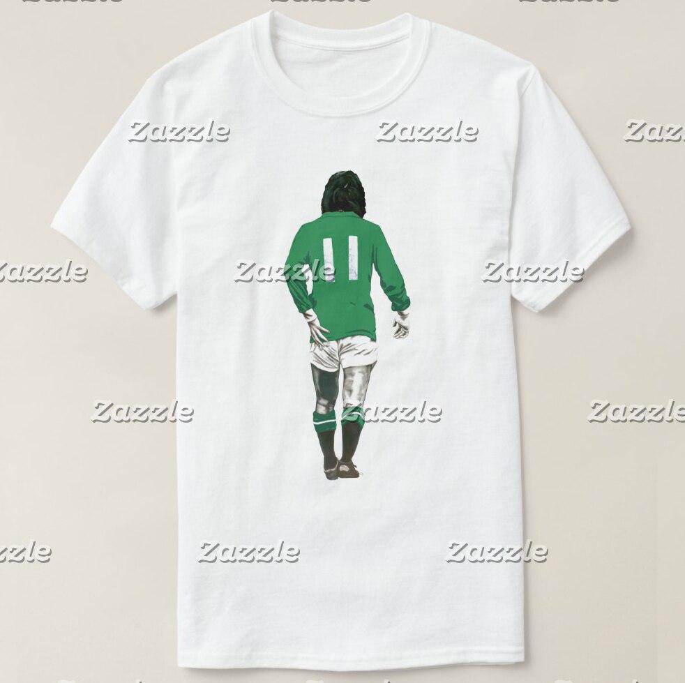 2019 camiseta estampada para hombre, de manga corta Camiseta de algodón, camiseta de fútbol de manga corta, camiseta de fútbol para mujer