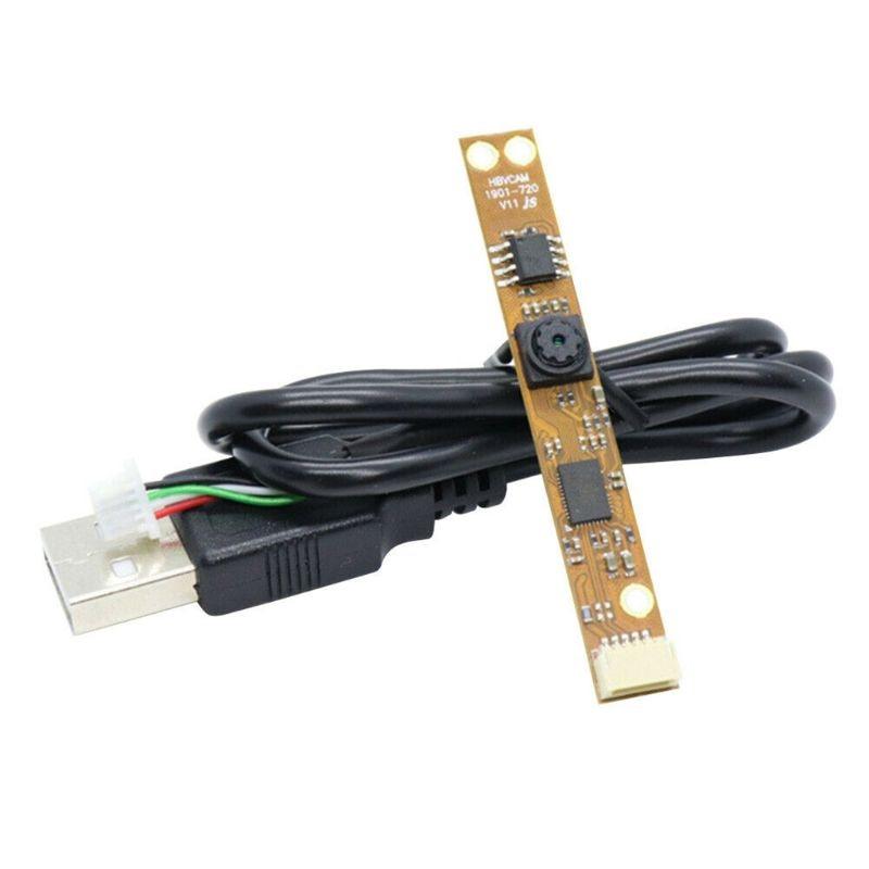 Module de caméra 1 mégapixels QR Code Plug And Play 720P H-D 30fps OV9726 pour ordinateur portable