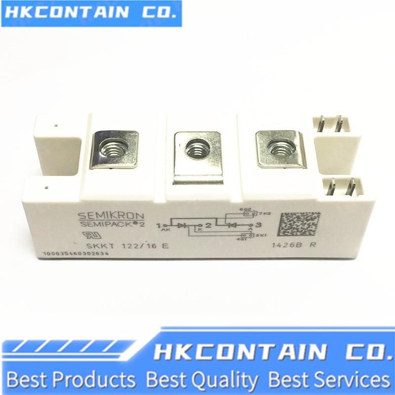 NEW MODULE SKKT122/12E/14E/16E/18E SKKT122B12E/14E/16E/18E SKKT122/08D SKKT122/12/14/16 saimi controlled semikron skkt122 16e new original scr modules