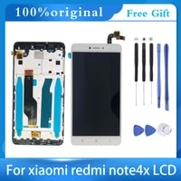 5 5 lcdframe for xiaomi redmi note 4x lcd display screen for redmi note 4 global version lcd only for snapdragon 625 lcd