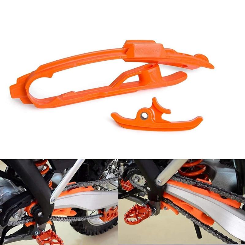 Plastics Chain Slider Sliding Swingarm Guard Guide Clamp for KTM SX SXF 125 200 250 350 450 525 2011-2015