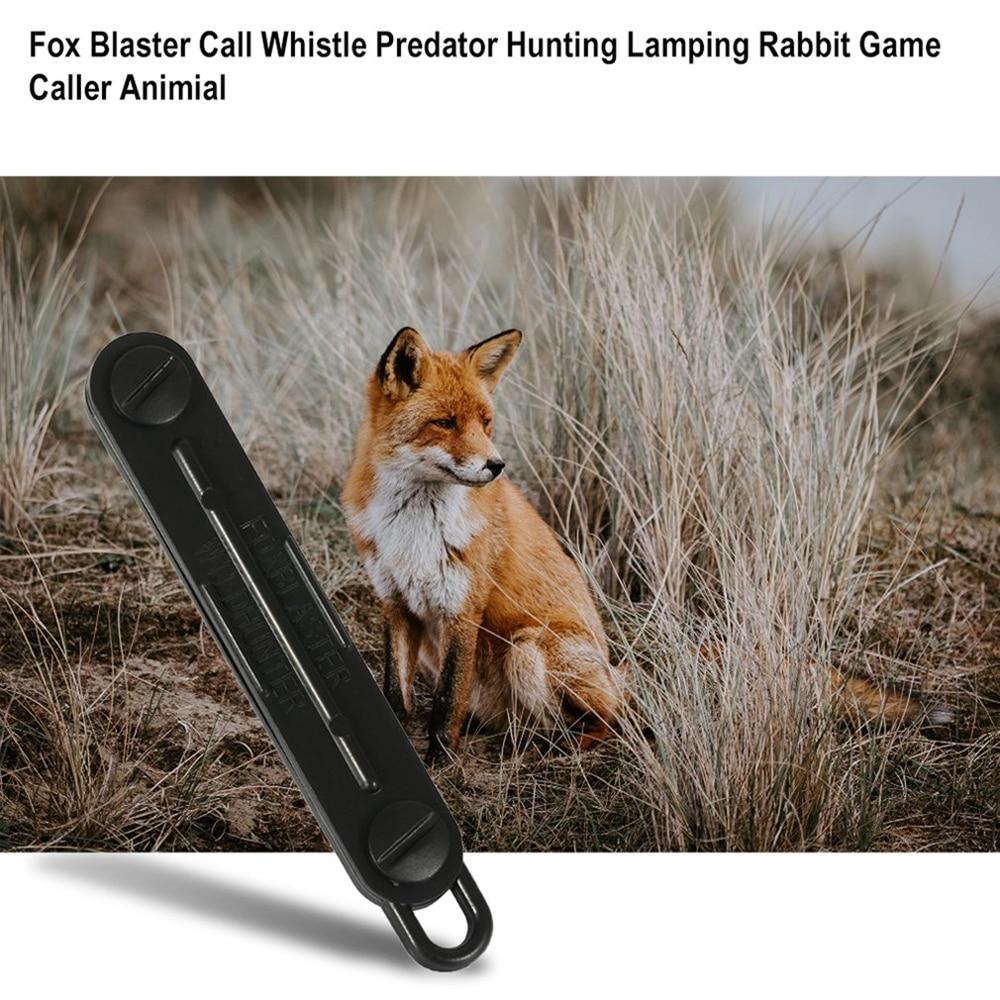 1 бр открит лисица надолу лисица бластер свирка свирка хищник инструменти за лов къмпинг повикване заешка игра