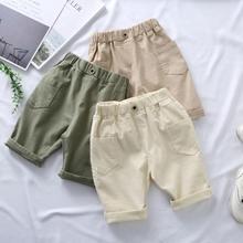 Vidmid garçons Shorts offre spéciale couleurs solides enfants garçon pantalons courts enfants vêtements pour garçons été plage Shorts amples garçon P401