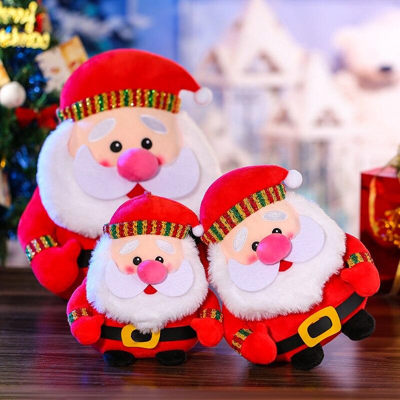 Новогодние куклы 2022 Санта-Клаус Снеговик Рождественское украшение для дома Рождественский Эльф Рождественский подарок для детей Рождеств... недорого