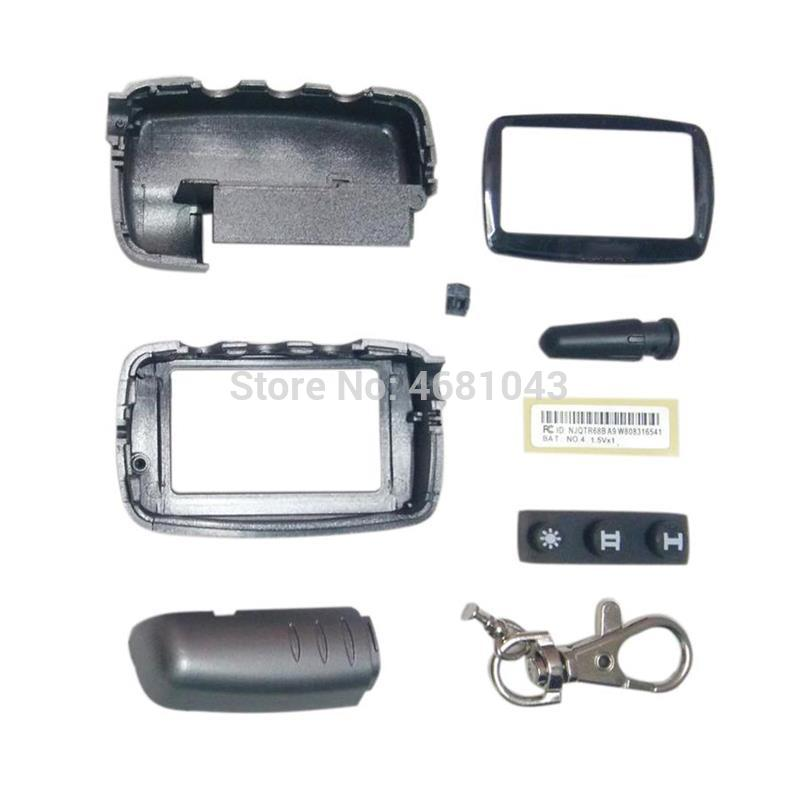 A9 Case Keychain Body Cover for Key Starline A9 A8 A6 A4 A2 LCD Remote Control Jaguar EZ-ALPHA 2 way