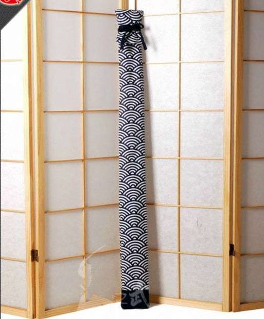 حقيبة سيف ساموراي ياباني كيندو ، سكين كاتانا ، طبقة مزدوجة ، غطاء خارجي ، سيف ، سوزو تاي تشي ، غمد ناعم